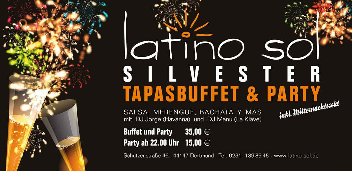 Salsa Silvester Party